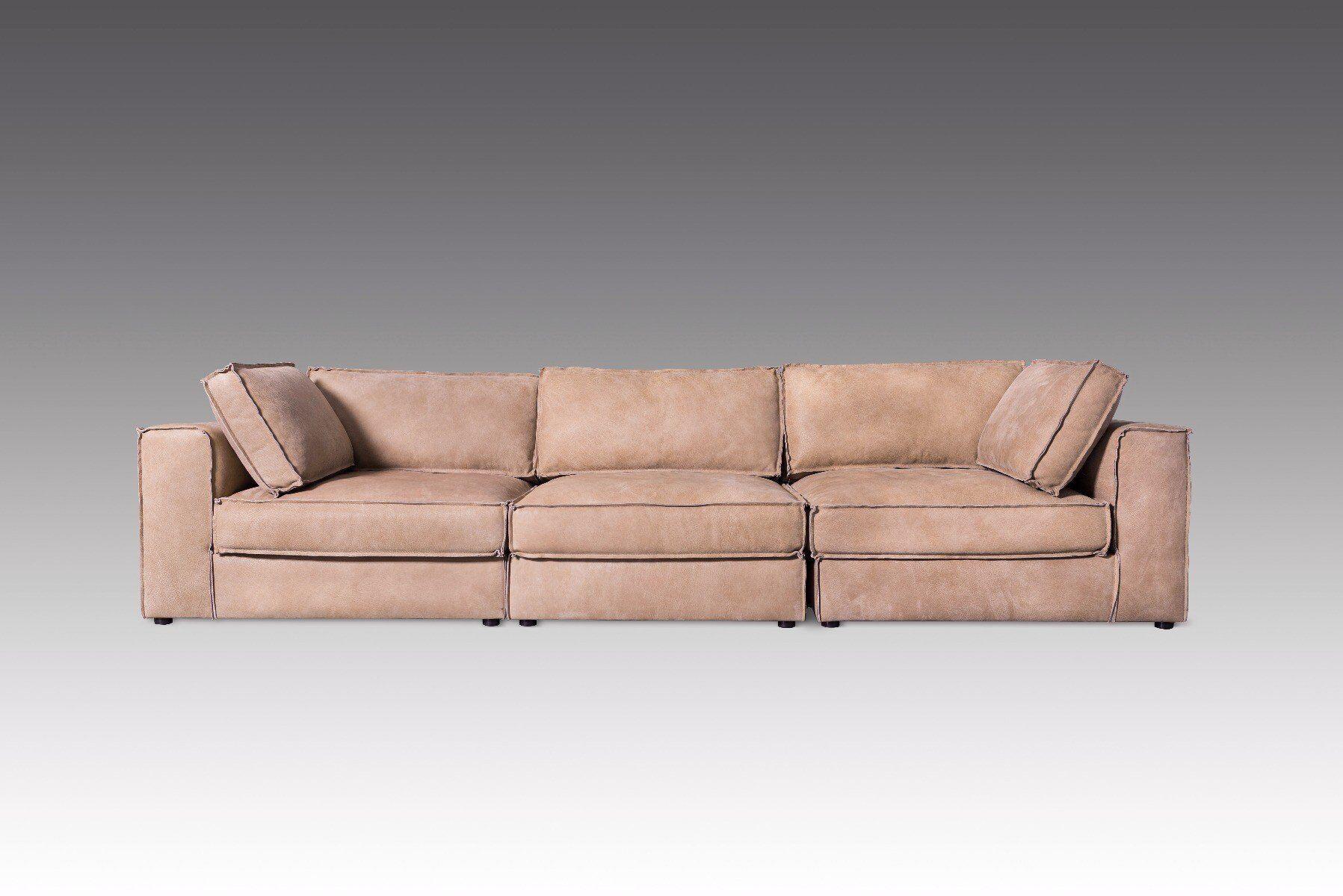 Sofa z podnóżkiem Bolton 2N1S+P