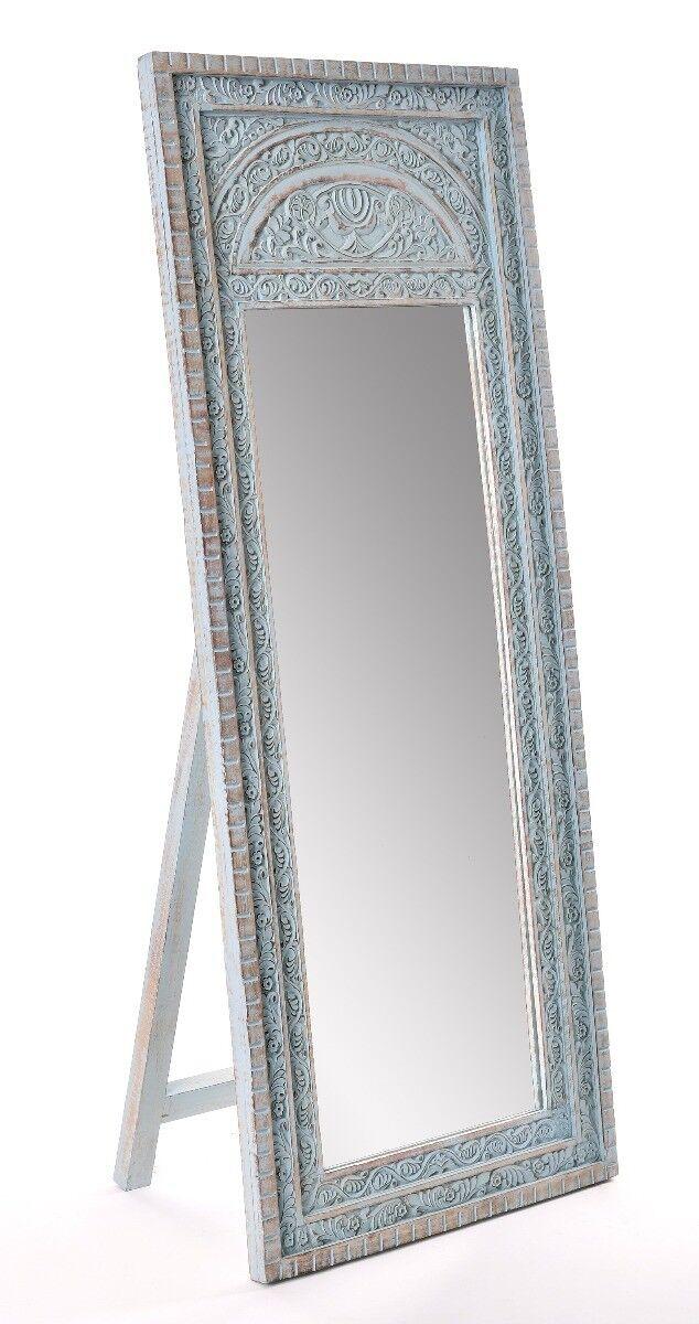 Lustro Jepara 65x165 cm drewno mangowca