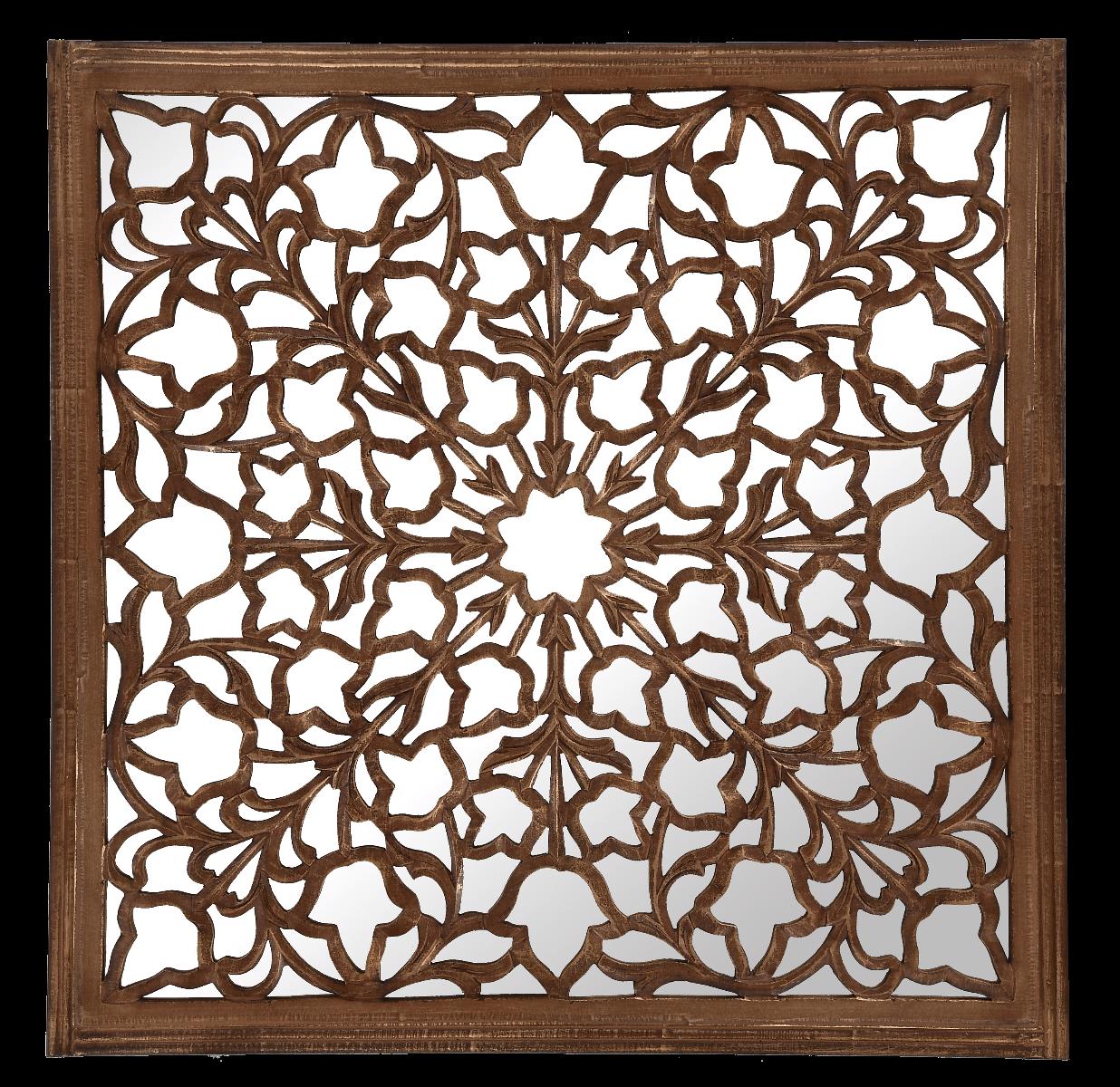 Lustro dekoracyjne Safi 90x90 cm
