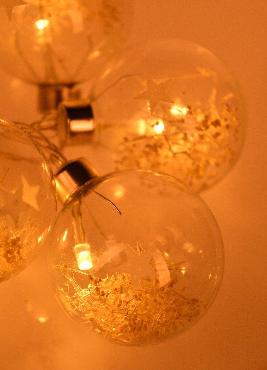 Lampki LED Bombki 125 cm