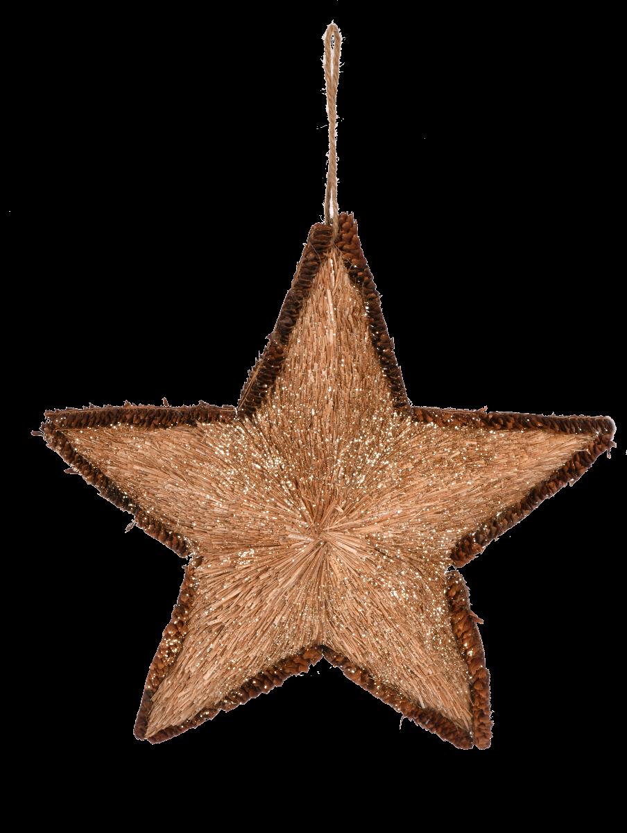 Zawieszka gwiazda M 28x28 cm
