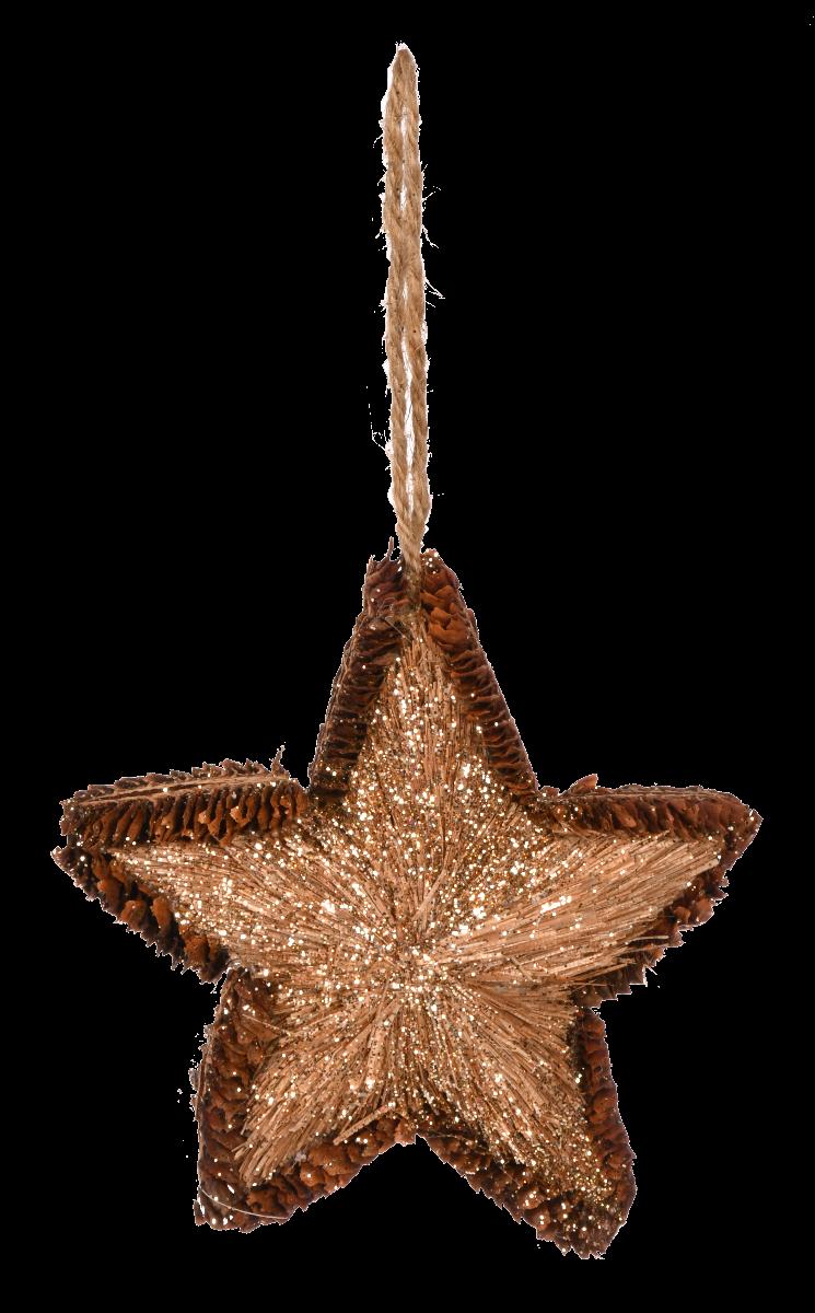 Zawieszka Gwiazda S 12x12 cm