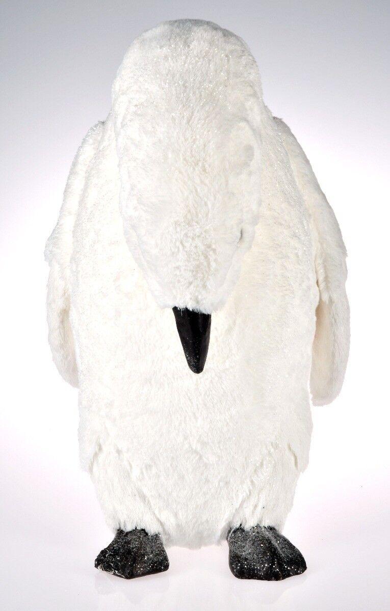 Biały pingwin 30x28x49cm