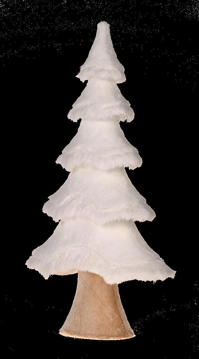 Choinka White Forest 33x33x105cm