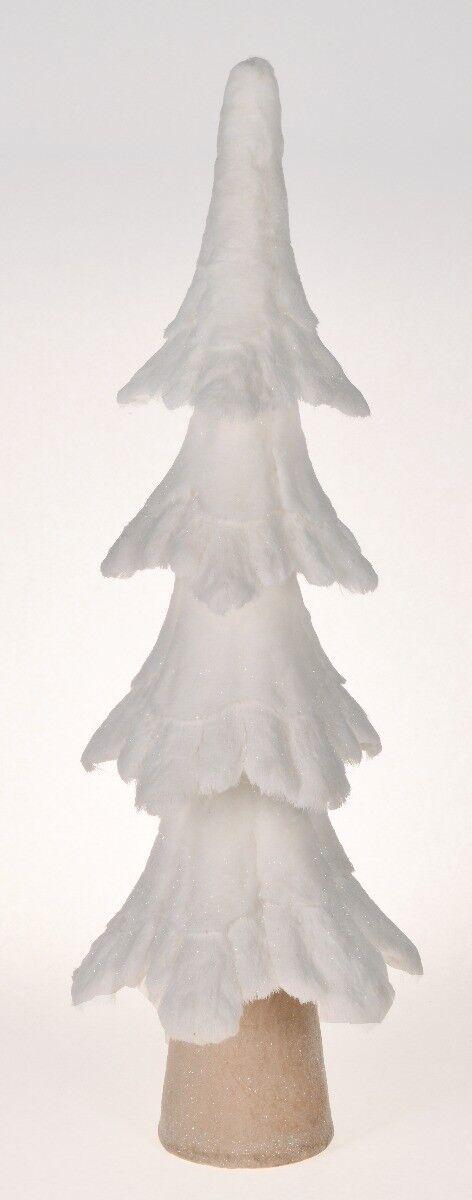 Choinka White Forest 49x18x77cm