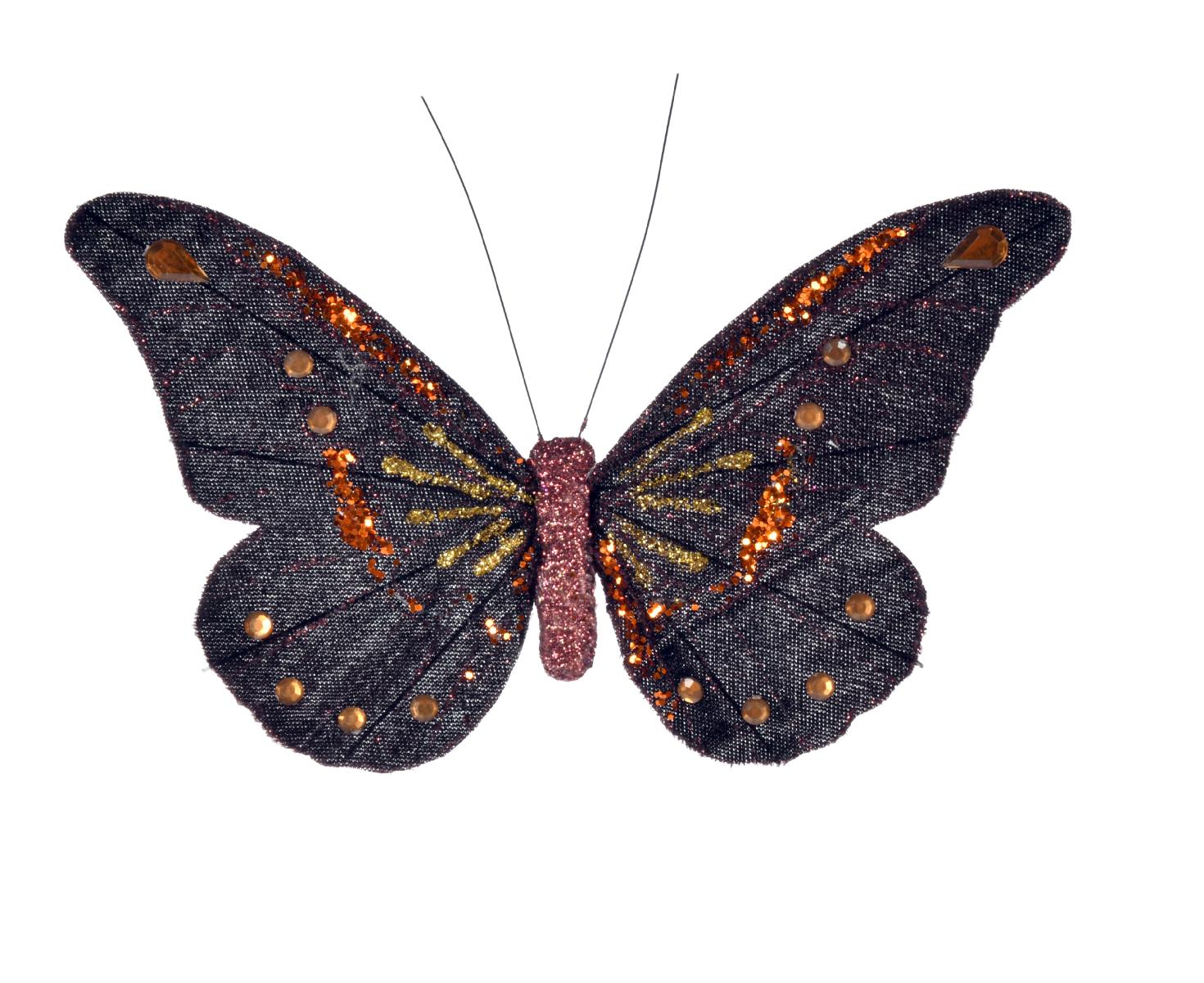 Motyl Klips 17 cm