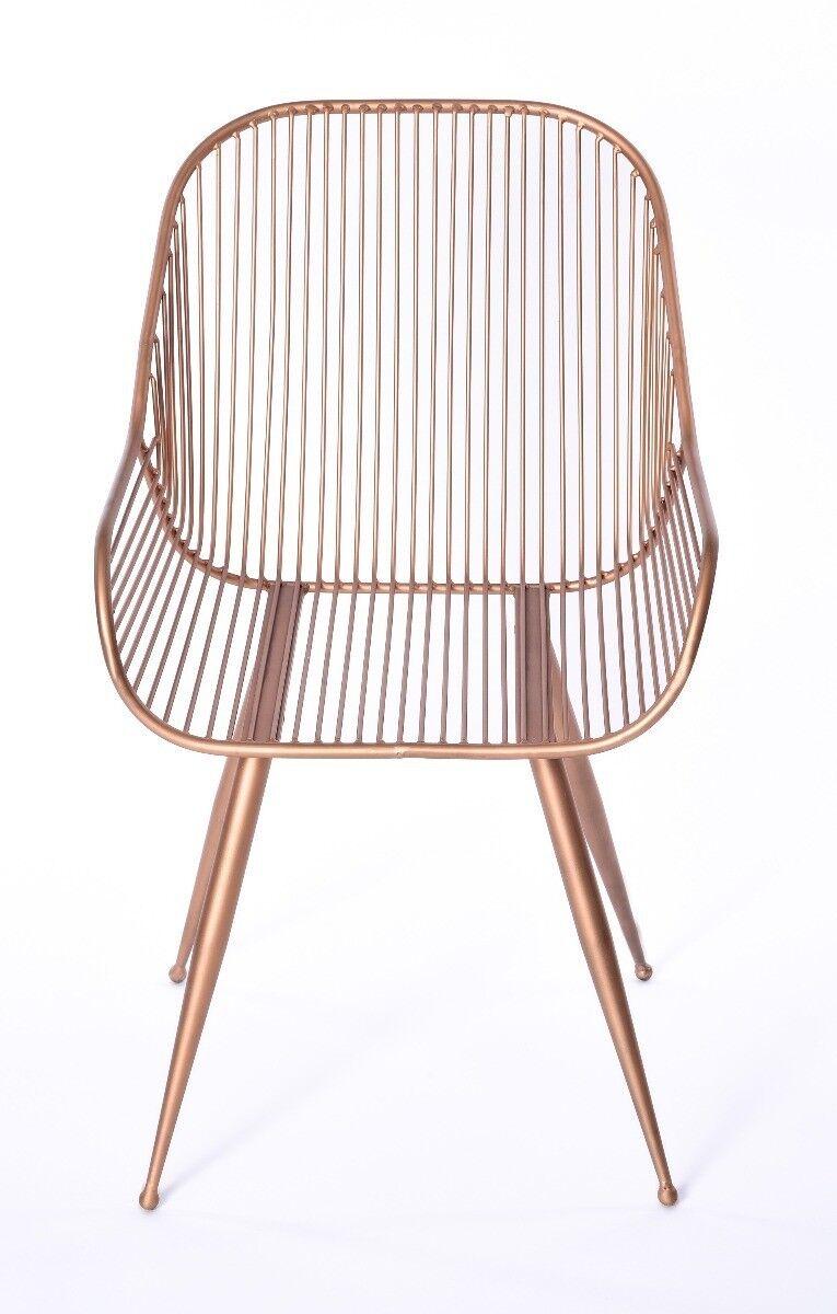 Krzesło metalowe Atelier 52x58x83 cm