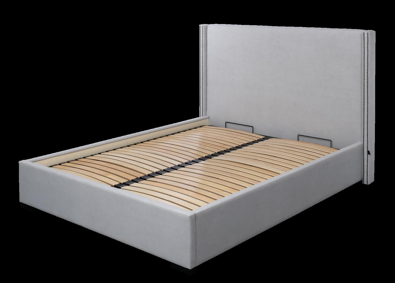Łóżko Cotter z pojemnikiem na pościel 178x224x125 cm