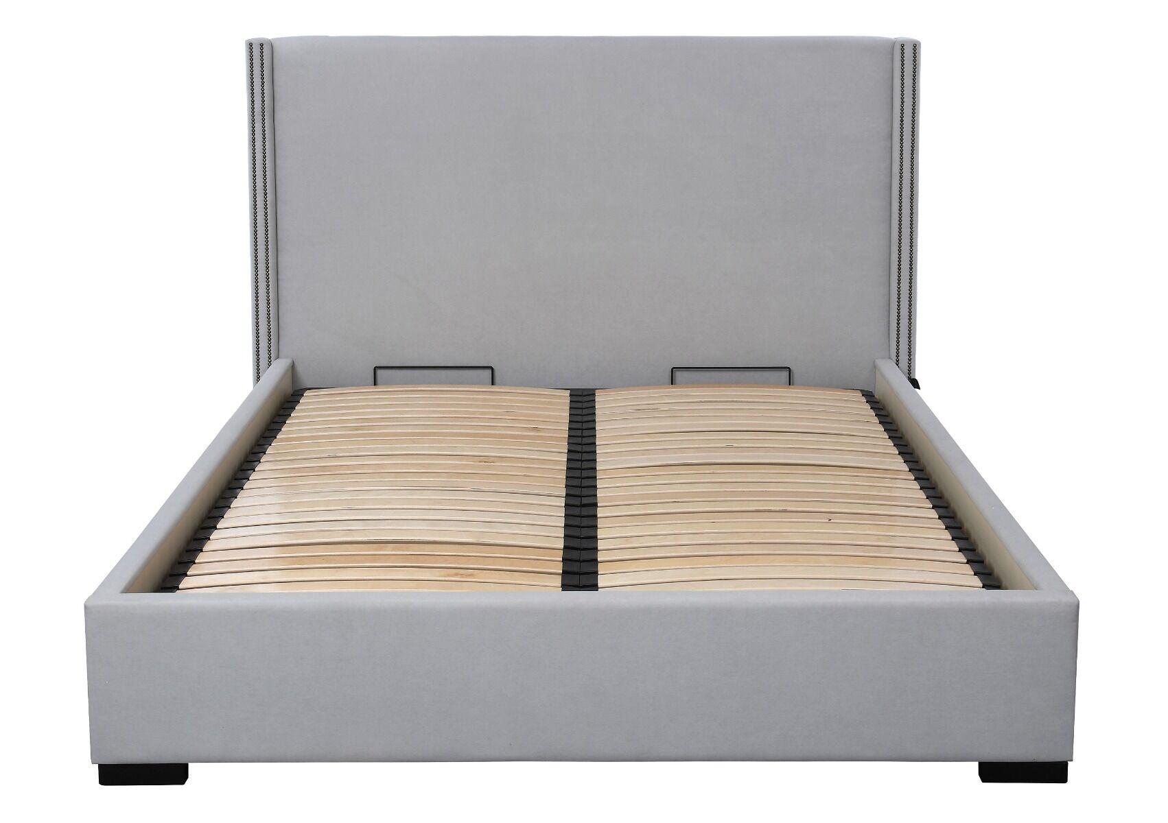 Łóżko Cotter z pojemnikiem na pościel 198x224x125 cm