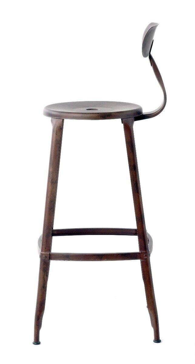 Krzesło barowe Loft 46x46x123 cm