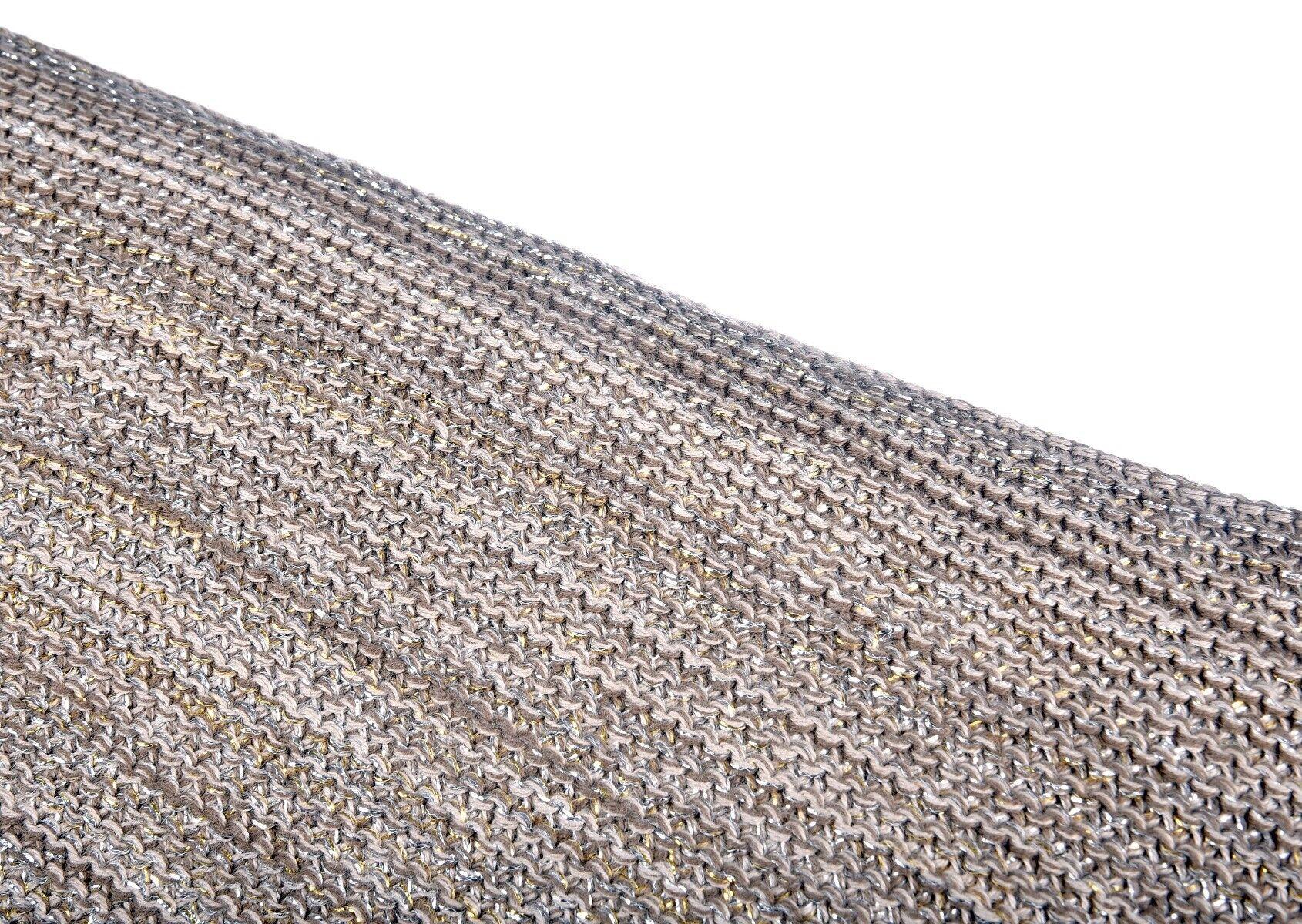 Brązowa poduszka Glitter 45x45cm