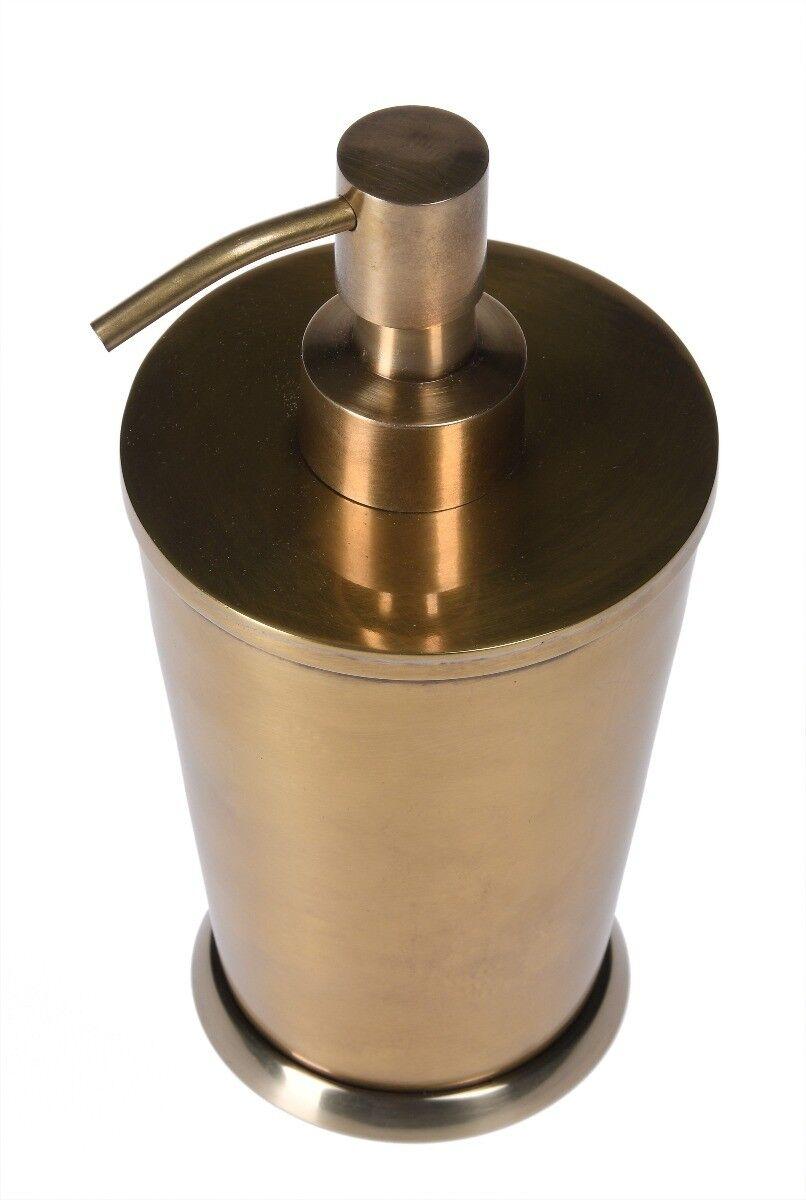 Dozownik Florance Brass 9x9x17 cm