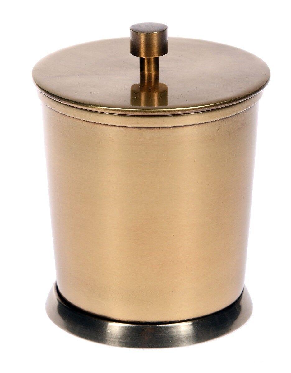 Pojemnik Florance Brass 10x10x12 cm