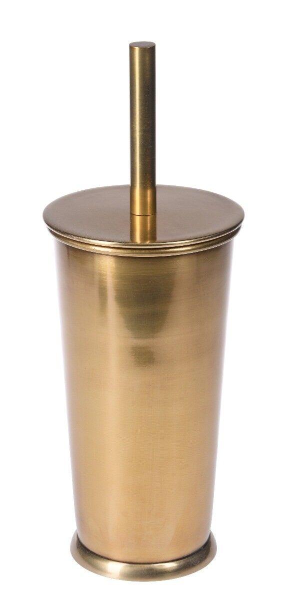 Szczotka do toalety Florance Brass 12x12x32 cm