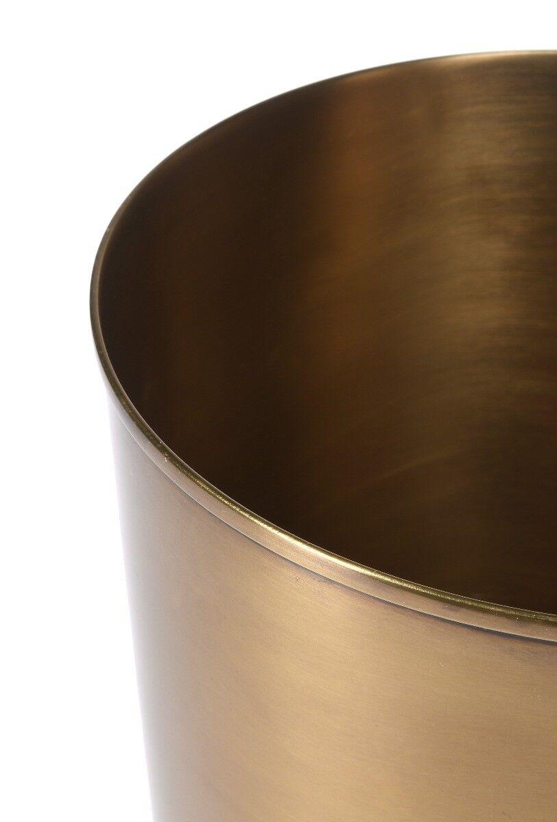 Kosz na śmieci Florance Brass 21x21x23 cm