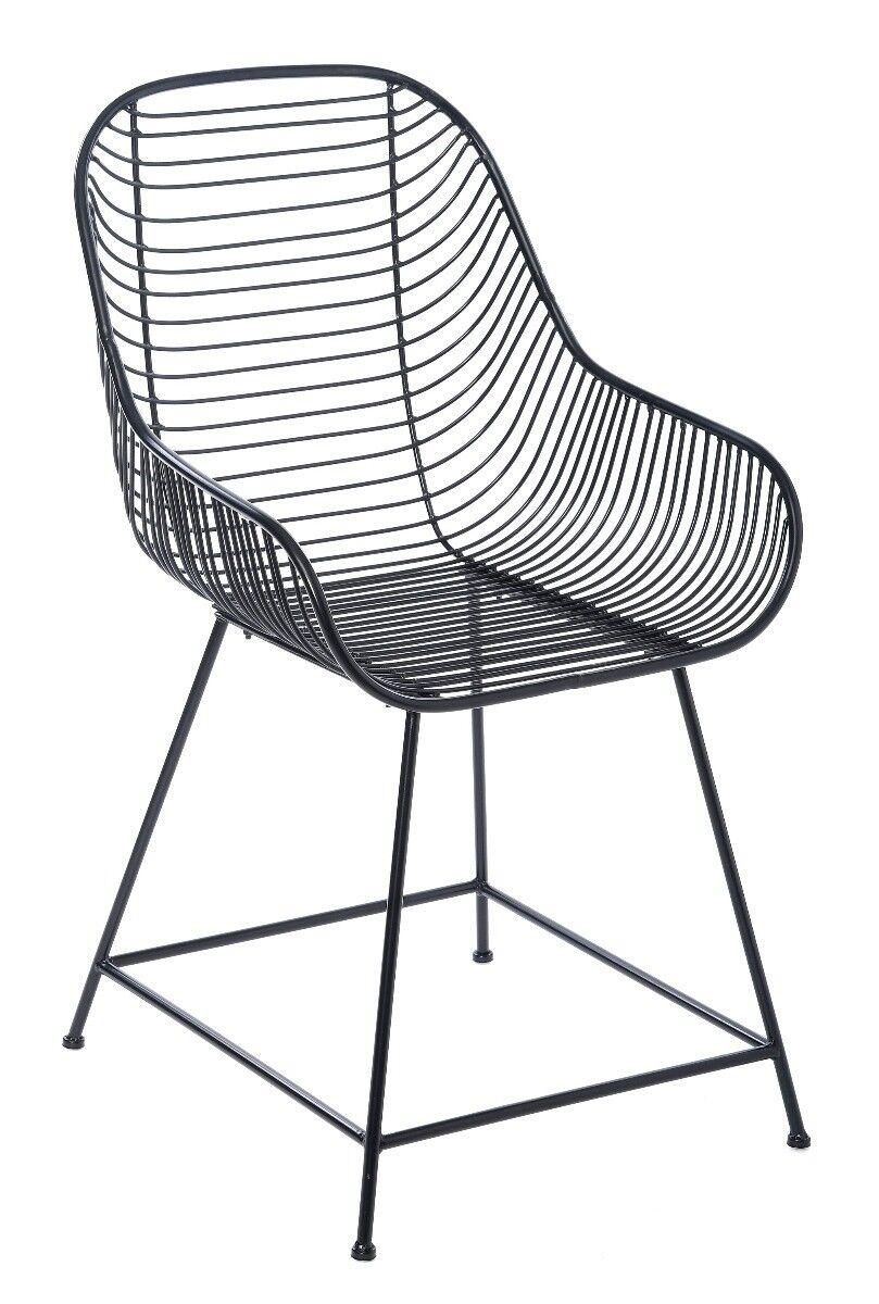 Krzesło metalowe Hill 52x61x90cm