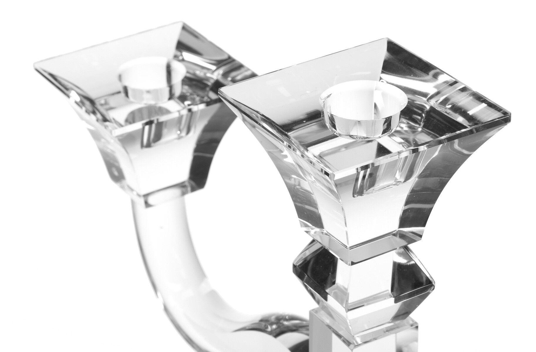 Świecznik 3-ramienny Crystal 31x10x31 cm