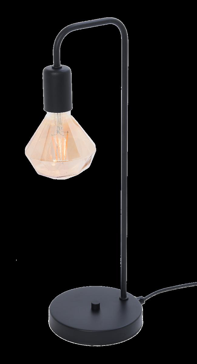 Lampa stołowa Hudson z żarówką 15x15x50 cm