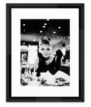 Obraz Audrey Hepburn 84x64 cm