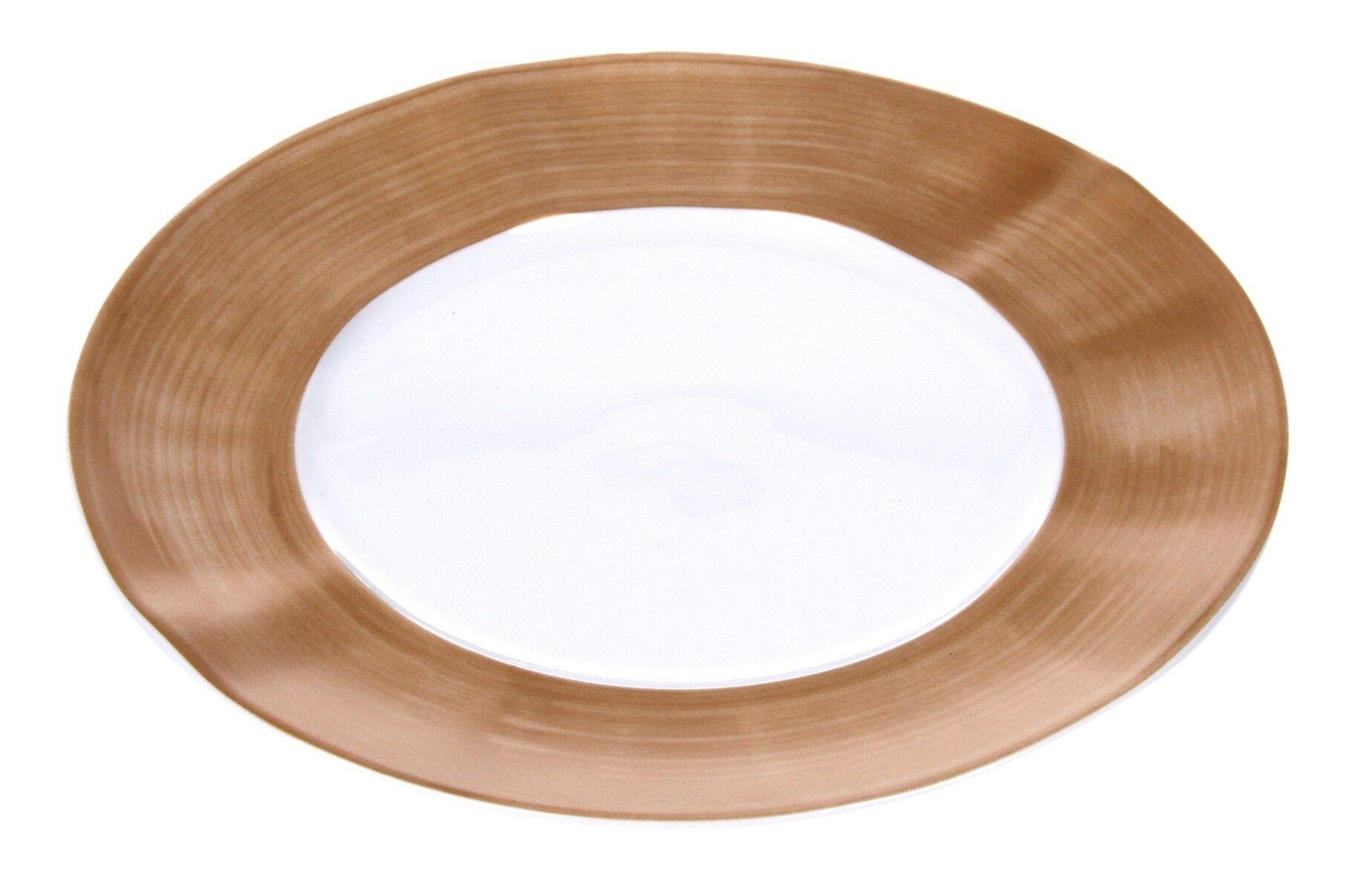 Talerz płytki Prato Gold 23cm