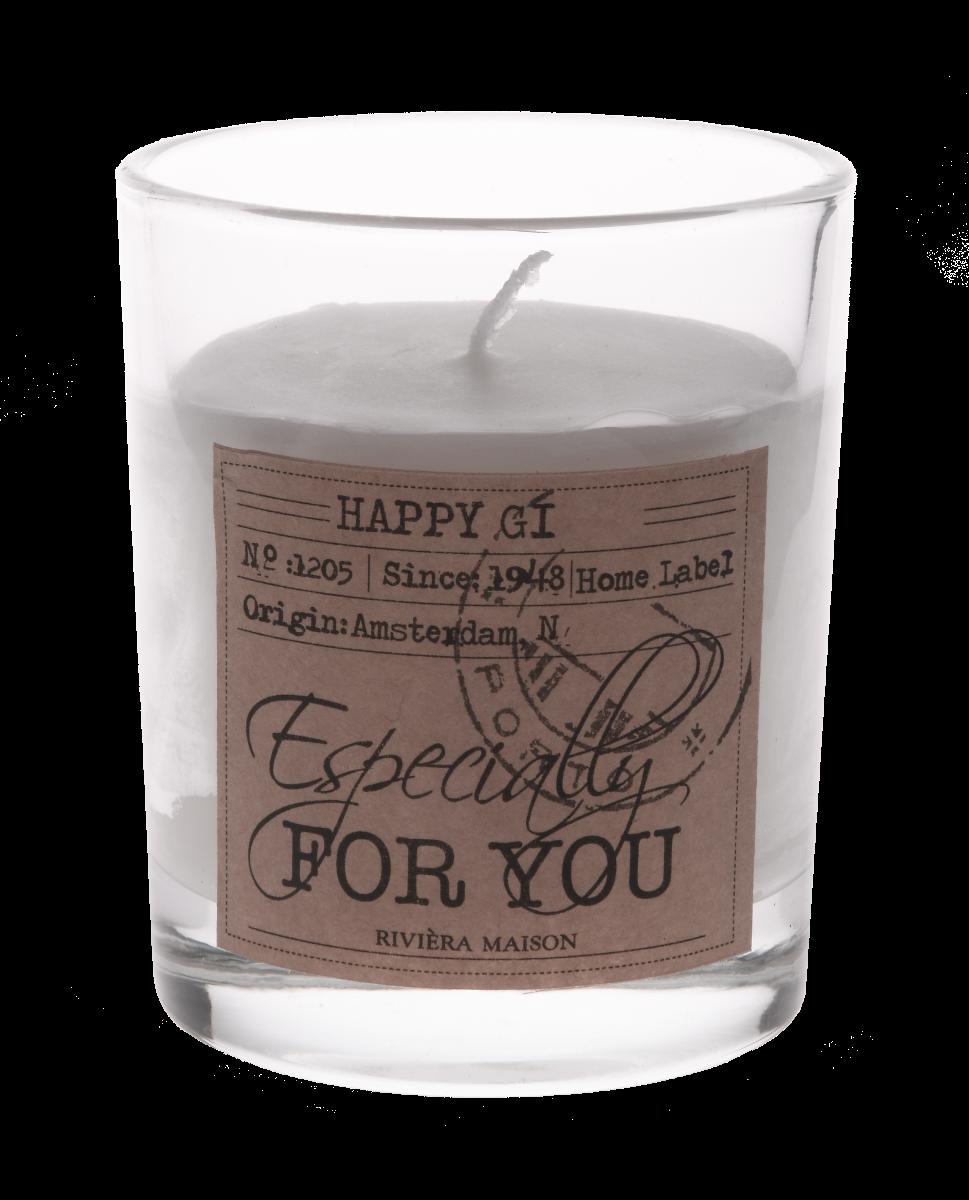 Świeczka Candle in a box Especially for you 7,3x8,5 cm Riviera Maison