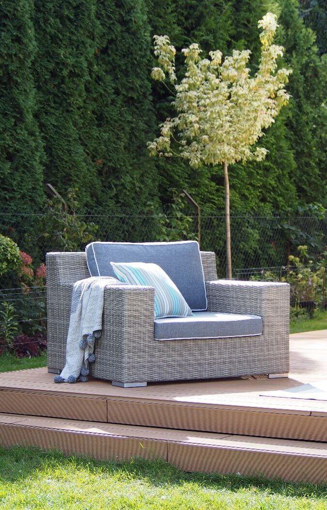 Fotel ogrodowy Cloud 116x100x75cm