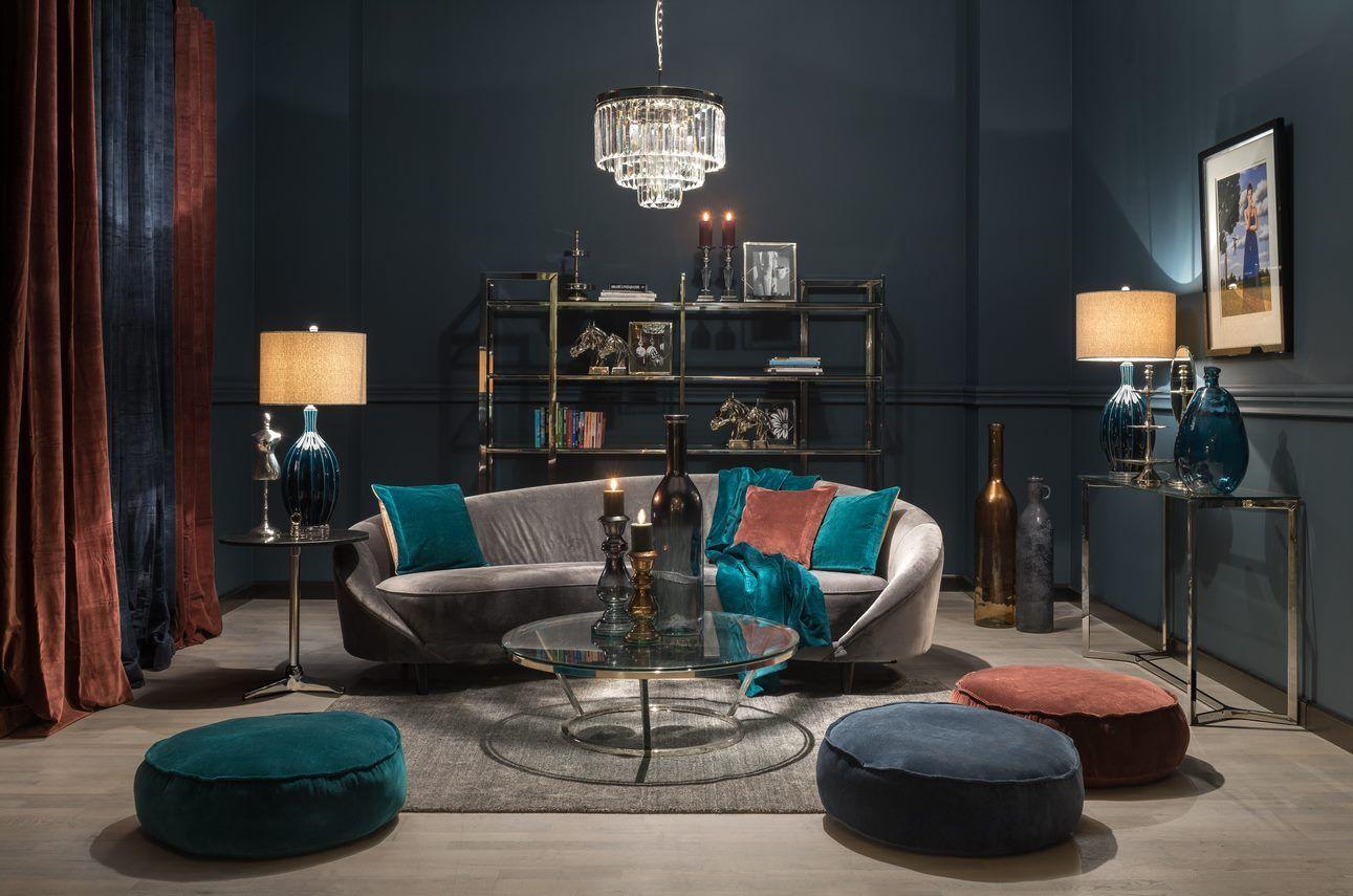 Lampa stołowa Adora 40x40x81 cm