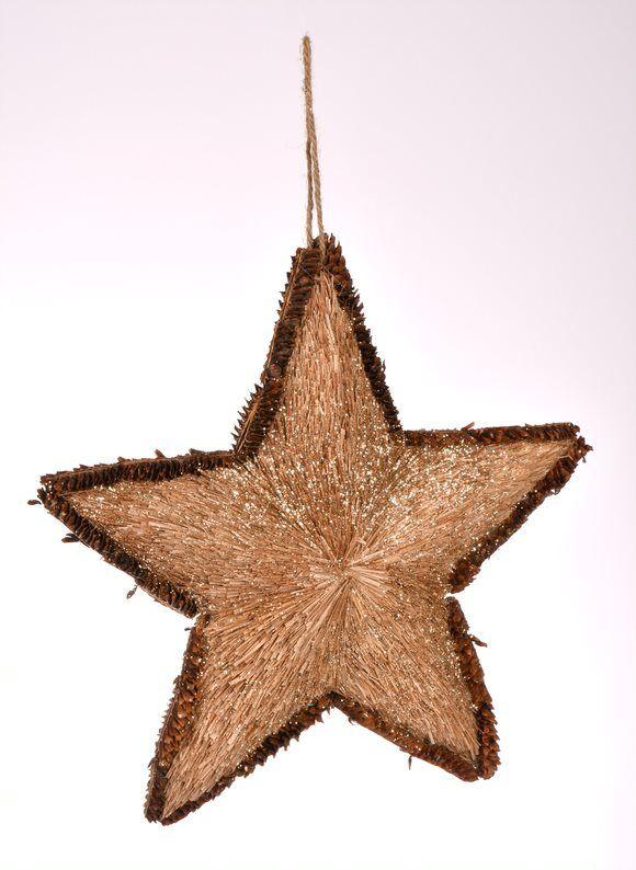 Zawieszka gwiazda L 41x41 cm