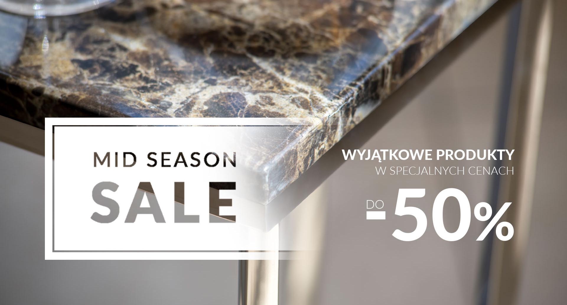 Rabat do -50% Sprawdź mid season sale w MIloo Home