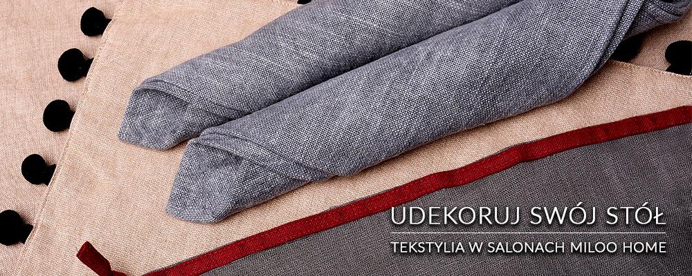 Tekstylia stołowe