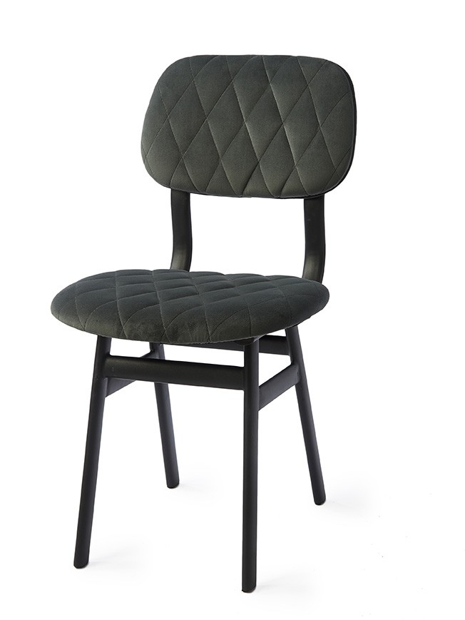 Krzesło La Brera Dining Chair Seaweed 46x60x86 cm Riviera Maison Miloo Home 3961001