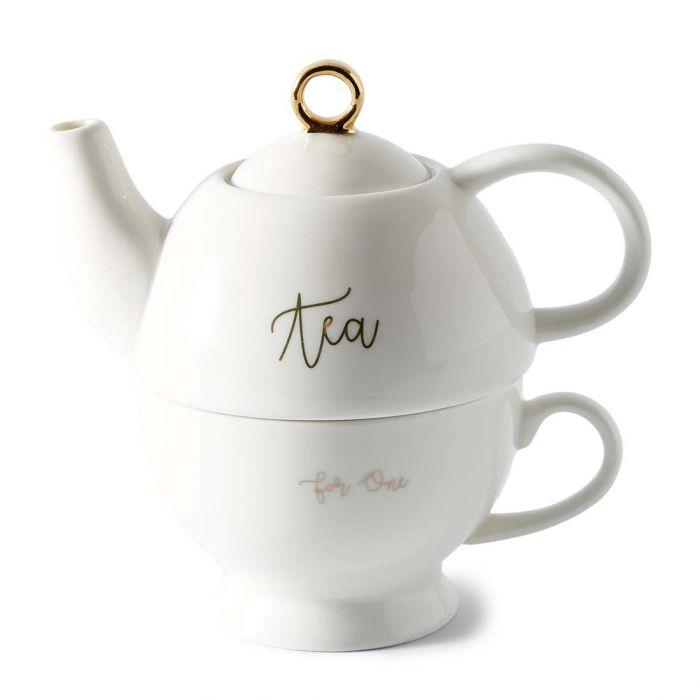 Dzbanek z filiżanką cosy tea for one pot Miloo Home 428230