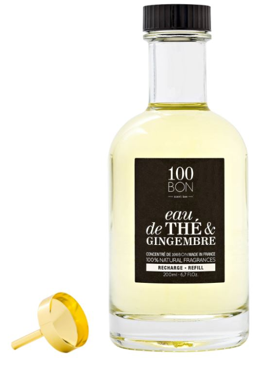 Esencja wody perfumowanej Eau De The Et Gingembre Edp Concentre 200ml Wkład Miloo Home 100BON-200044
